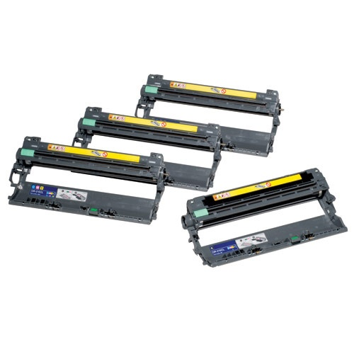 4pk DR-210CL Replacement DRUM UNIT for Brother HL-3040CN-CMYK Remanufactured